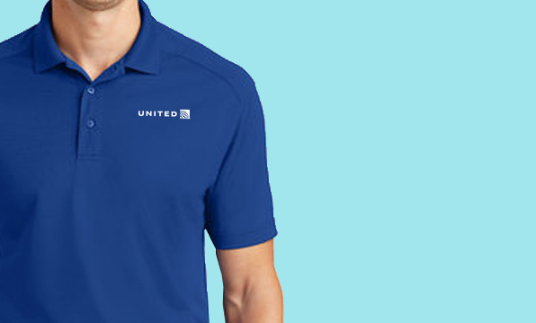 Shirt made for United Airlines